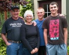 Rich, Susan, Jake, Ryder