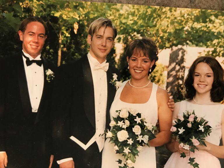 Ethan, Rick, Allison & Erin