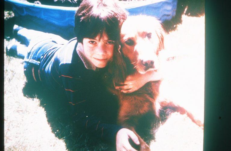 Ethan & dog