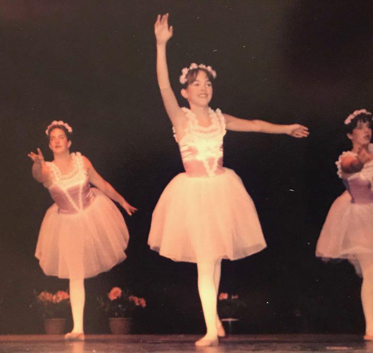 Allison dancing