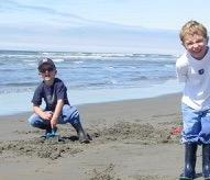 Jake & Ryder at Long Beach