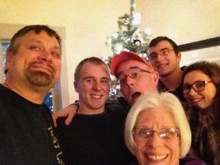 Mark, Jake, Rich, Susan, Ryder & Maggie