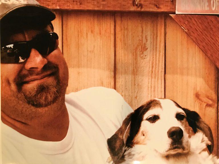 Mark & dog