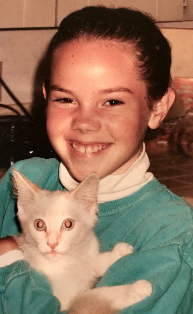 Erin & kitty